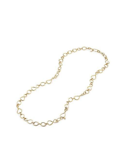 David Yurman | Metallic Continuance Medium Chain Necklace In 18k Gold | Lyst