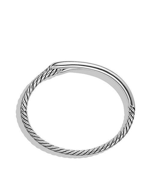 David Yurman   Metallic Labyrinth Single-loop Bracelet, 10mm   Lyst
