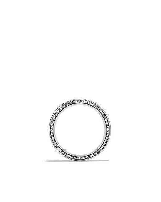 David Yurman | Metallic Streamline Band Ring In Platinum, 4mm | Lyst