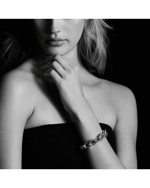 David Yurman | Metallic Extra-large Oval Link Bracelet In 18k Gold | Lyst