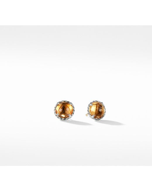 David Yurman - Multicolor Châtelaine® Earrings With Citrine - Lyst