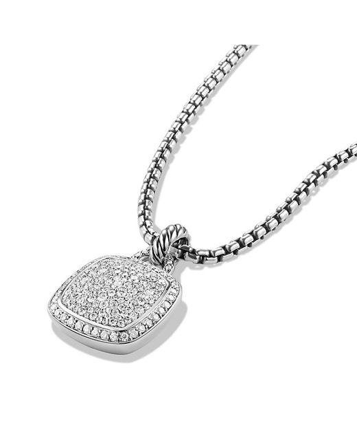 David Yurman   Metallic Albion® Pendant With Diamonds, 14mm   Lyst