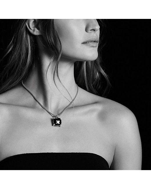 David Yurman | Metallic Châtelaine Pendant With Citrine And Diamonds, 20mm | Lyst