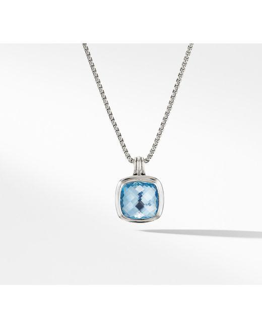 David Yurman - Albion® Pendant With Blue Topaz - Lyst
