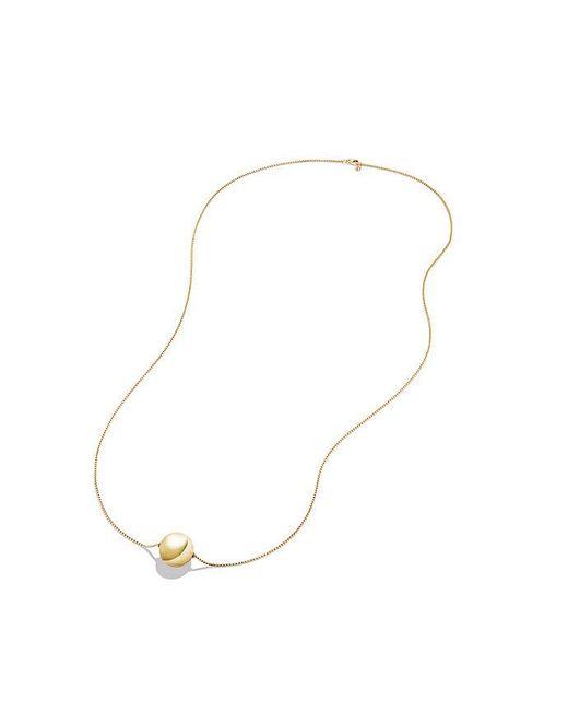 David Yurman | Metallic Solari Pendant Necklace In 18k Gold, 23mm | Lyst
