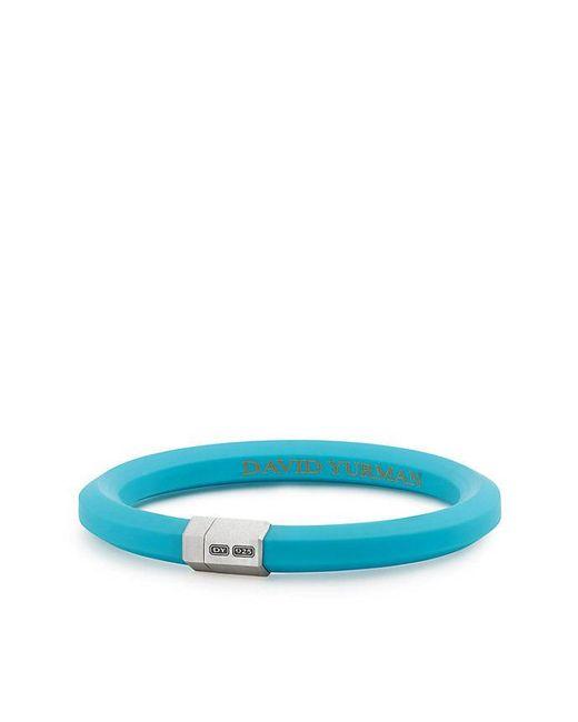 David Yurman - Blue Hex Bracelet In Teal, 10.5mm - Lyst