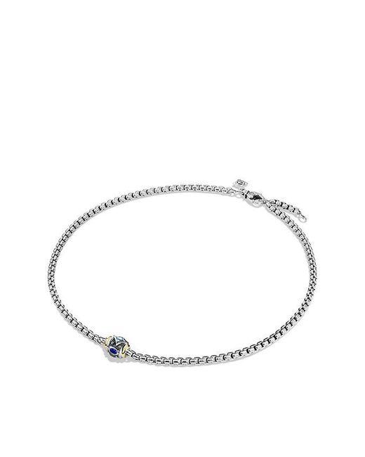 David Yurman | Renaissance Chain Necklace With Blue Topaz, Lapis Lazuli And 18k Gold | Lyst