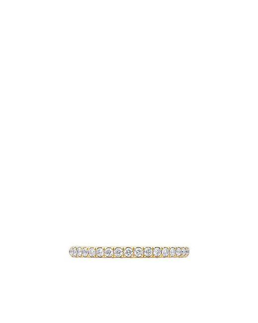 David Yurman | Metallic Dy Eden Eternity Wedding Band With Diamonds In 18k Gold, 1.85mm | Lyst
