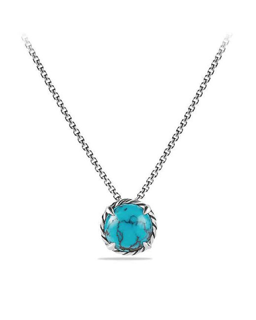 David Yurman | Blue Châtelaine Pendant Necklace With Turquoise | Lyst