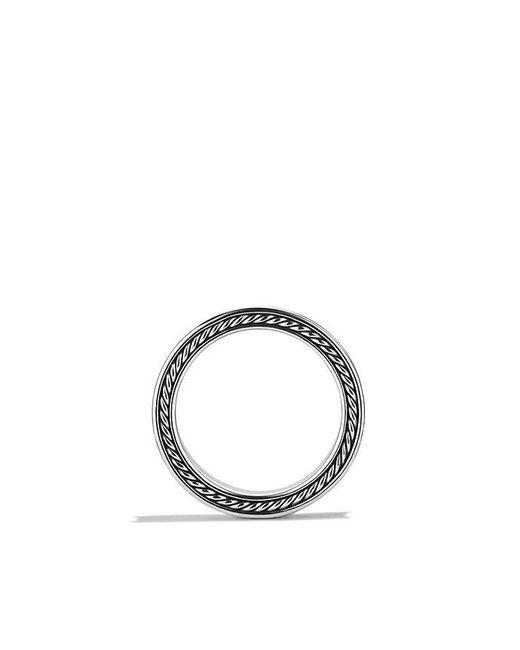 David Yurman | Metallic Streamline Three-row Band Ring With Diamonds for Men | Lyst