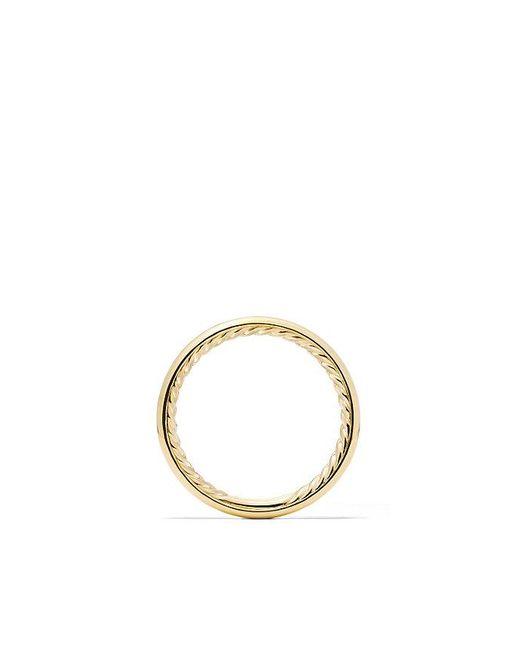 David Yurman | Metallic Dy Eden Smooth Wedding Band In 18k Gold, 2.5mm | Lyst