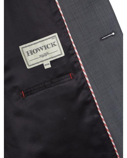 Howick | Gray Darby Birdseye Slim Fit Suit Jacket for Men | Lyst