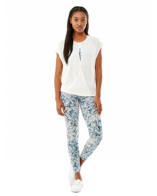 Alternative Apparel   White Pick A Side Eco-gauze Jersey Top   Lyst