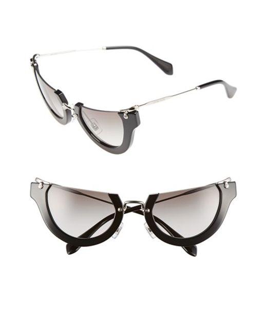 c2e2ec200497 Miu Miu Sunglasses Cat Eye