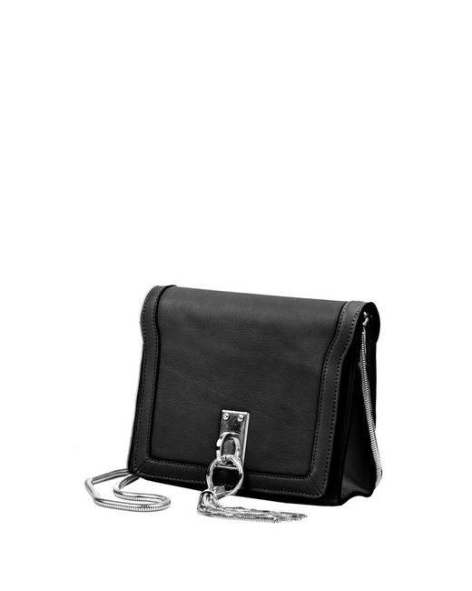 Linea Pelle | Black Crosby Shoulder Bag | Lyst