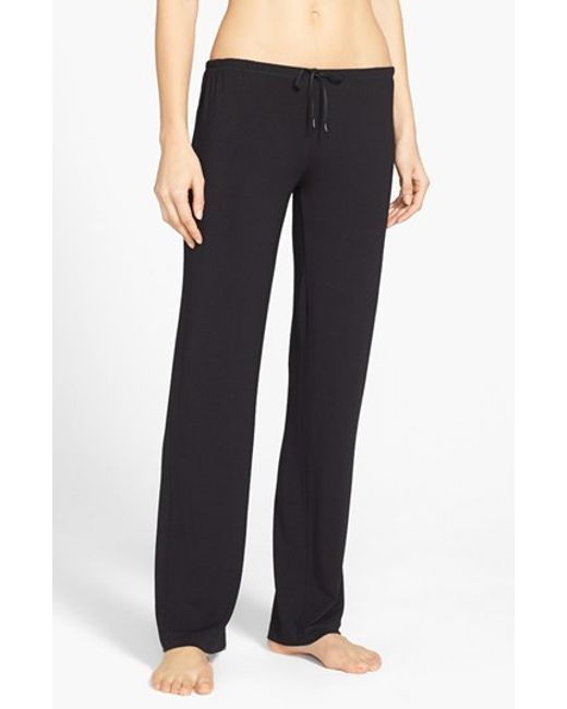 DKNY | Black 'city Essentials' Pants | Lyst