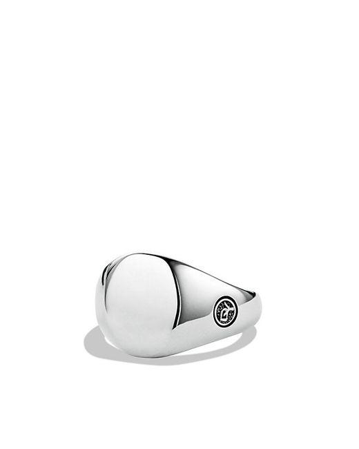 David Yurman | Metallic Streamline Small Oval Signet Ring for Men | Lyst