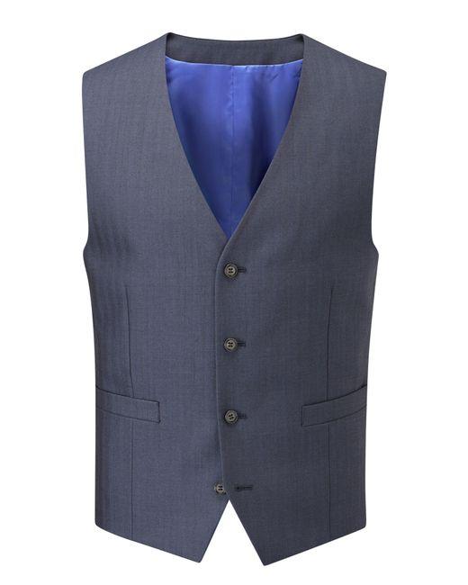 Skopes | Blue Hansen Suit Waistcoat for Men | Lyst