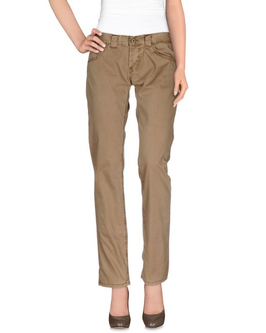 Elegant Khaki SKU  Vente En Gros VANCL Slim Cut Business Casual Pants Women