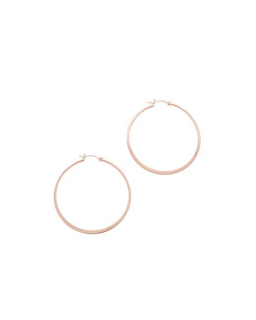 Jennifer Zeuner | Pink Small Hoop Earrings | Lyst