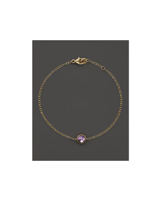 Ippolita | Metallic 18k Gold Mini-lollipop Bracelet In Amethyst | Lyst