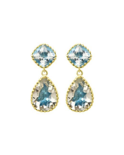 Larkspur & Hawk | Blue Large Jane Earrings | Lyst