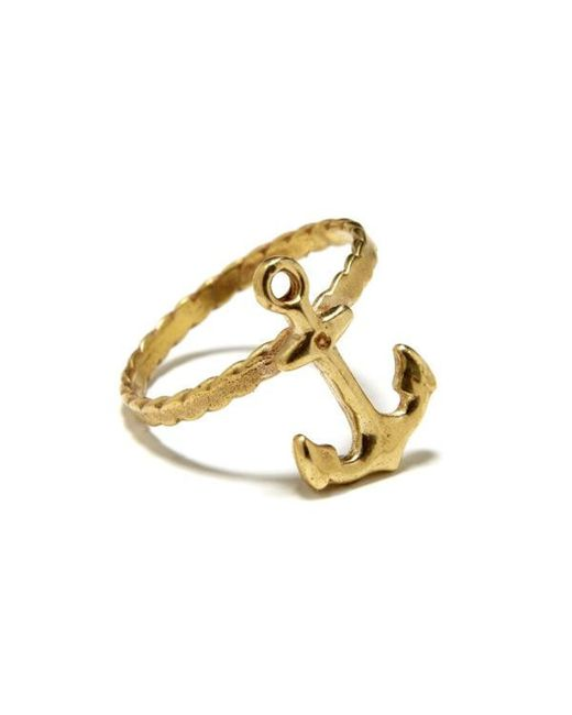 Bing Bang | Yellow Anchor Ring | Lyst