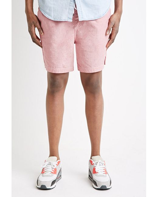 Forever 21 | Red Cotton Drawstring Shorts for Men | Lyst