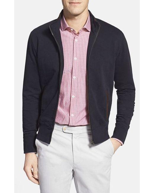 Billy Reid | Blue Track Jacket for Men | Lyst