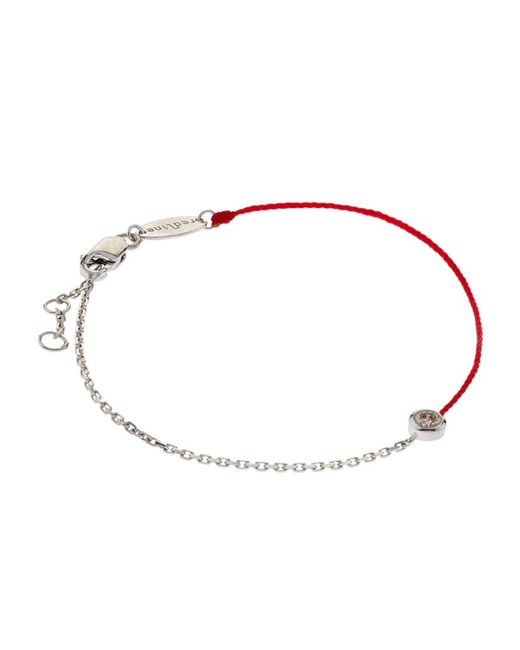 Redline Pure Double Bracelet In Red  Lyst. Sapphire Glass Watches. Pearl Diamond Earrings. Rosary Beads. Colored Rubber Bracelet. Lunar Phase Watches. Womens White Gold Bangle. Abalone Rings. Men Diamond