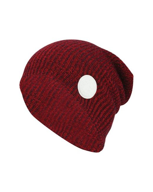 Converse | Red Winter Slouch Knitted Cap for Men | Lyst