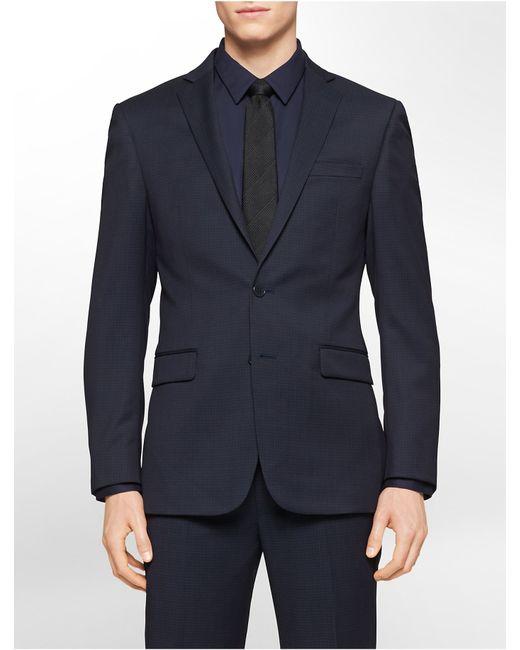 calvin klein suit fit guide