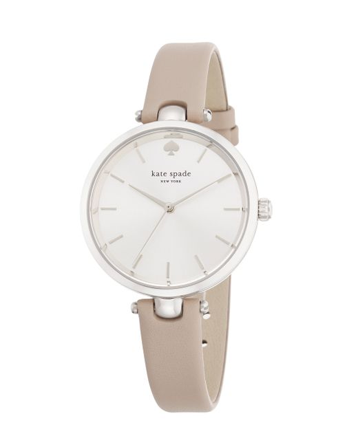 Kate Spade | Gray Holland Skinny Strap Watch | Lyst