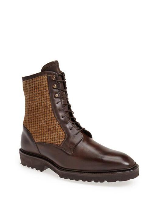Carlos Santos | Brown 'amado' Boot for Men | Lyst