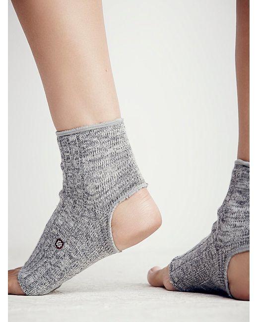 Free People | Gray Dharma Yoga Sock | Lyst