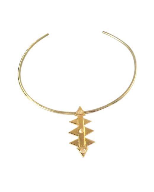 Jill Golden | Metallic Boundary Collar | Lyst