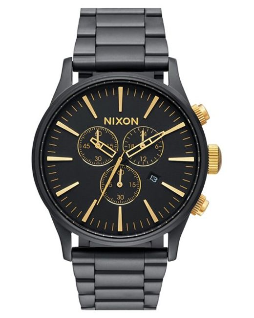 Nixon | Black Wrist Watch for Men | Lyst