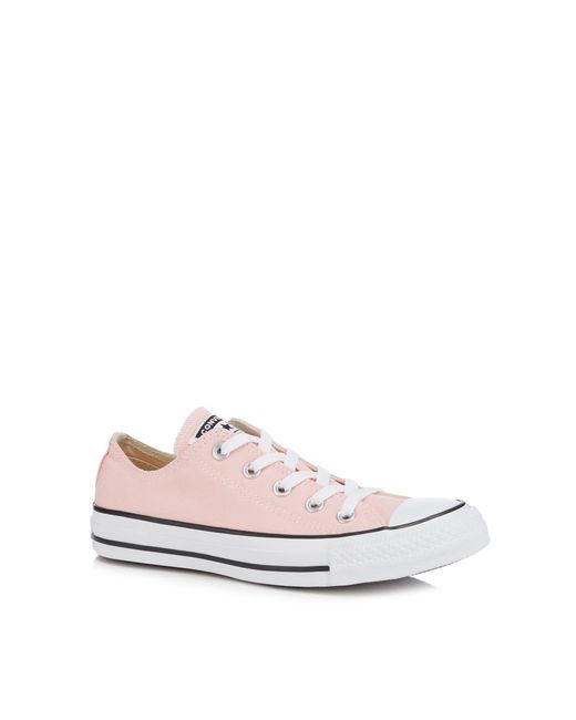 Converse - Blue Pink Canvas 'chuck Taylor All Star' Trainers - Lyst