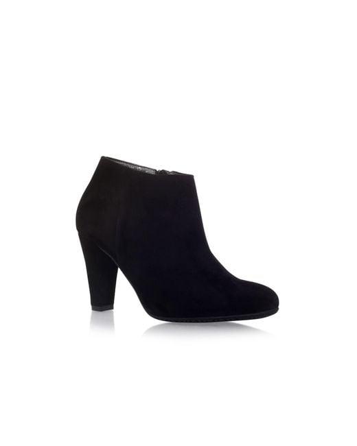 Carvela Kurt Geiger - Black 'ross' High Heel Ankle Boots - Lyst
