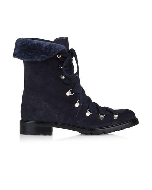 Hobbs - Blue Navy 'phoebe' Boot - Lyst