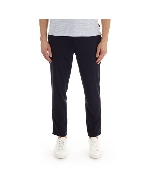 Burton - Blue Navy Tapered Fit Drawstring Trousers for Men - Lyst
