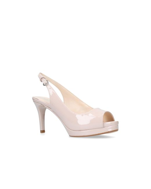 Nine West - Natural Nude 'competition' Sandals - Lyst