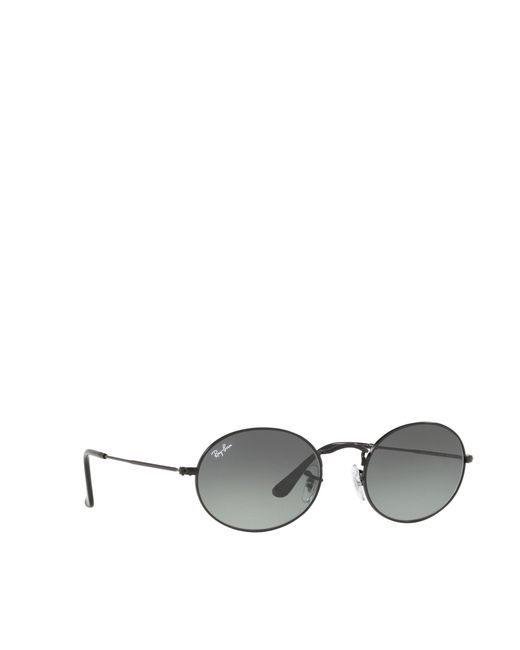 Ray-Ban - Black Oval Sunglasses for Men - Lyst