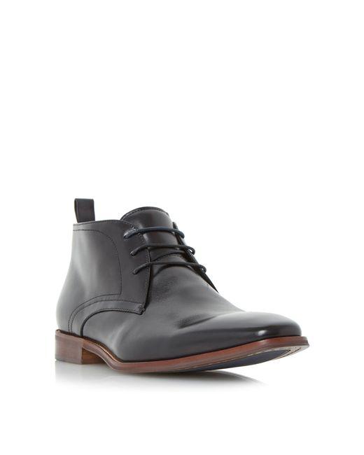 Dune - Black 'murray' Formal Chukka Boots for Men - Lyst