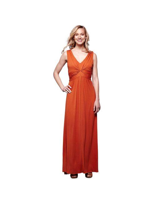 7d0b45e47d Yumi  - Multicolor Bronze Pleated Maxi Dress ...
