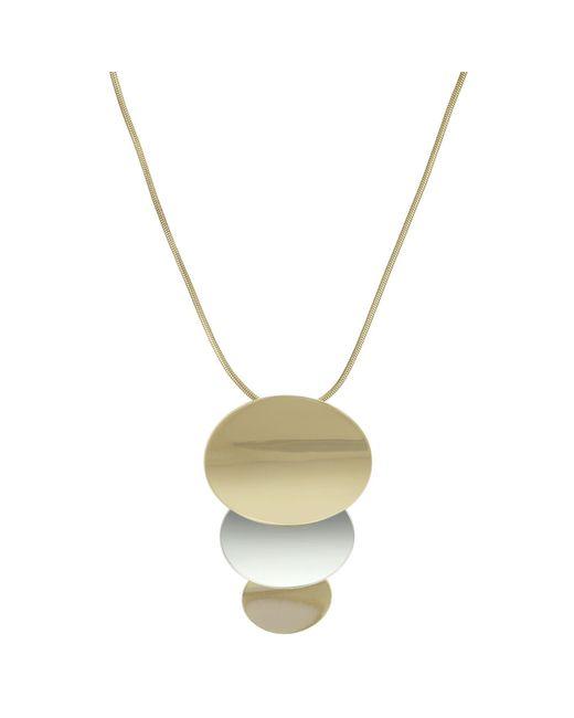 J By Jasper Conran - Metallic Designer Organic Shape Necklace - Lyst