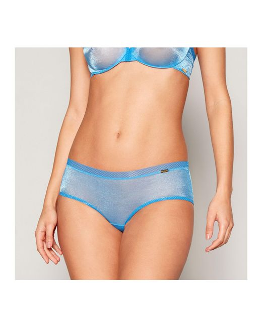 Gossard - Bright Blue Mesh Shorts - Lyst
