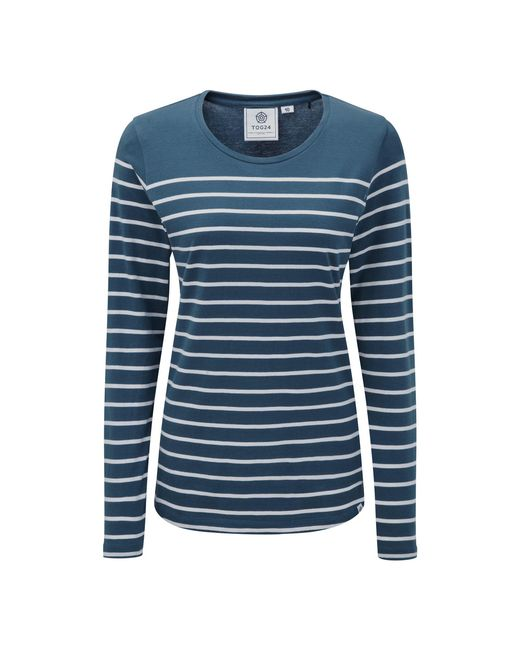 Tog 24 - Blue Navy Hailey Long Sleeve T-shirt - Lyst
