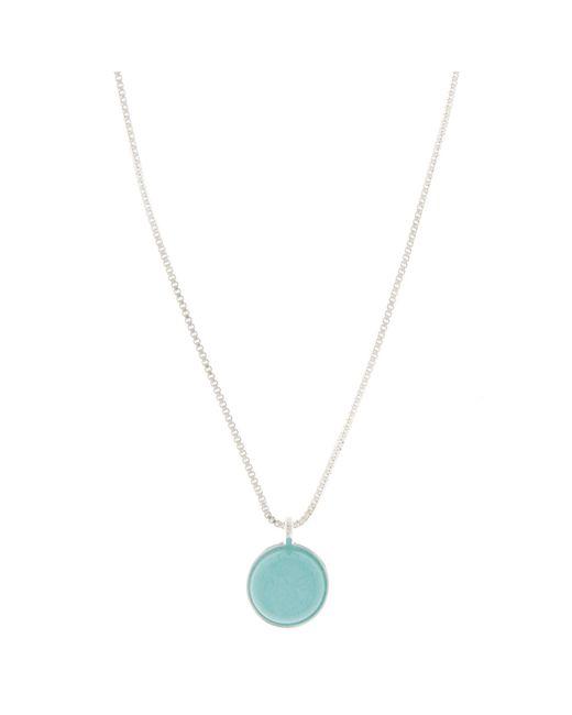 Pilgrim - Metallic Silver 'valeria' Necklace - Lyst