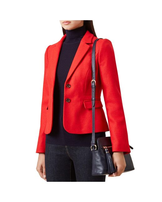 Hobbs - Bright Red 'hackness' Jacket - Lyst